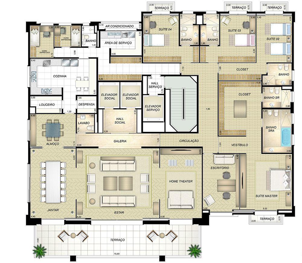 Pin De Naara Lifestyle Ig Em Planner House Plantas De Casas