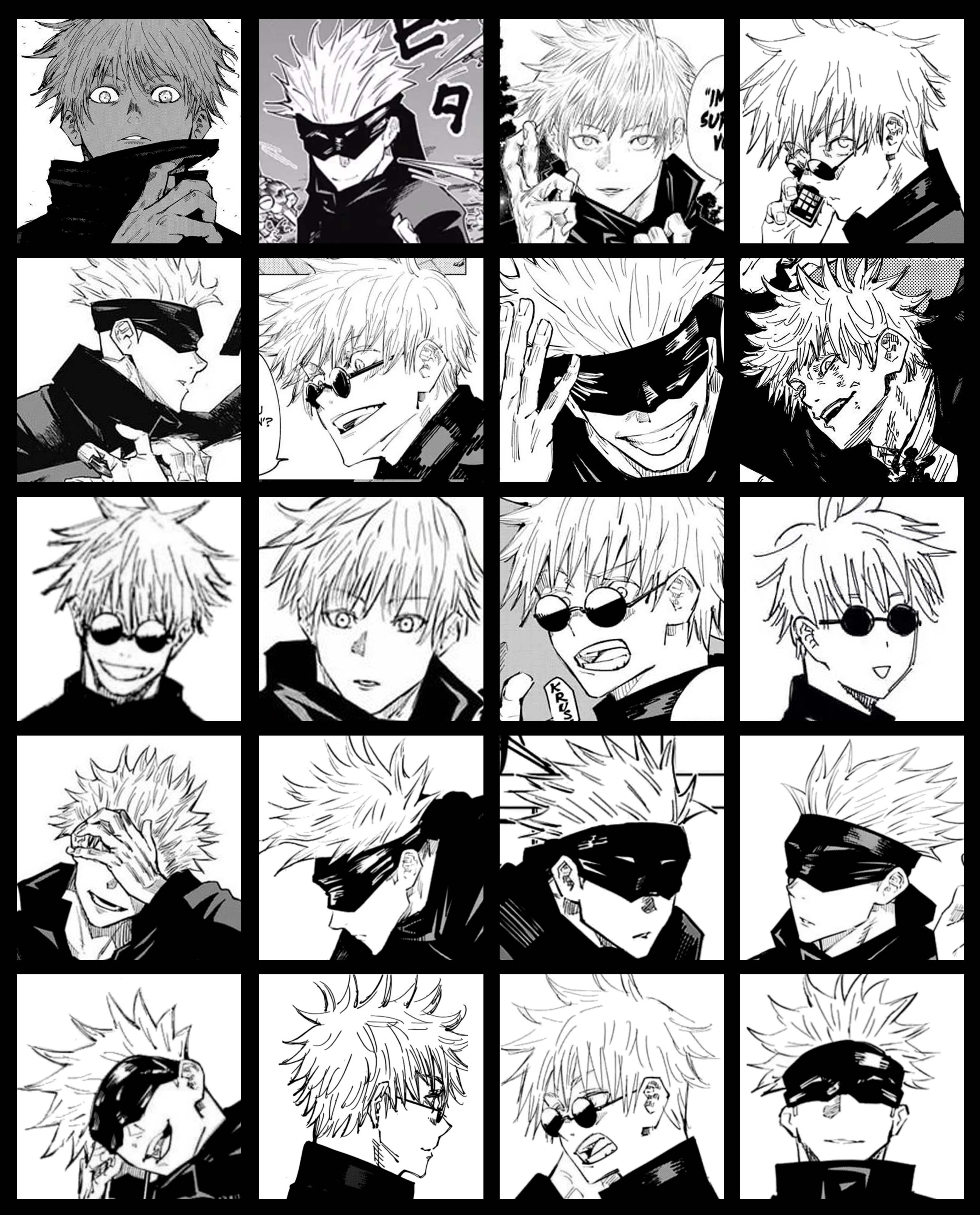 Satoru Gojo Jujutsu Kaisen Collage Aesthetic Wallpaper Jujutsu Aesthetic Anime Anime Reccomendations
