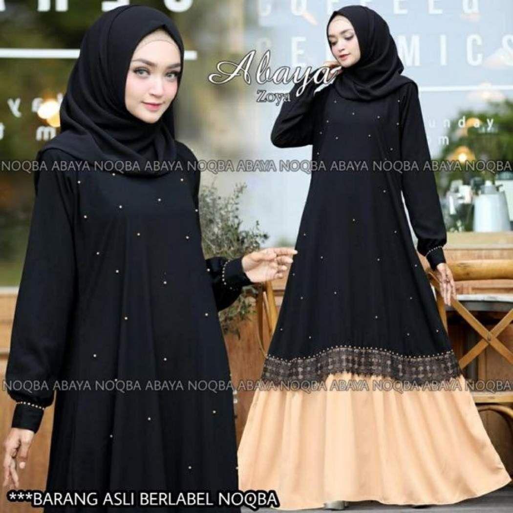 Model Gamis Terbaru Zoya  Baju muslim, Pakaian, Model