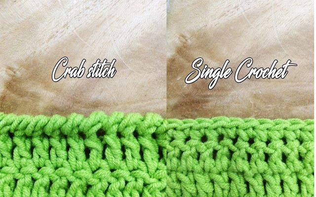 si nanay madel how to crab stitch or reverse single crochet - Hakelmutzen Muster
