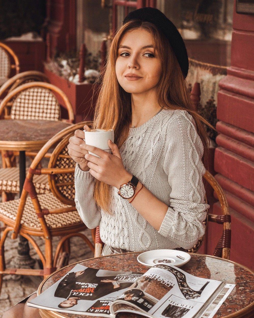 позы для фотографий в ресторане своей