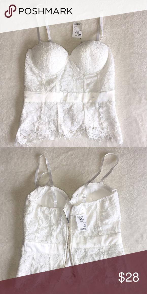 a70c140f639bb5 AKIRA bralette AKIRA bralette Zipper back Padded bra Lace AKIRA Intimates   Sleepwear  Bras