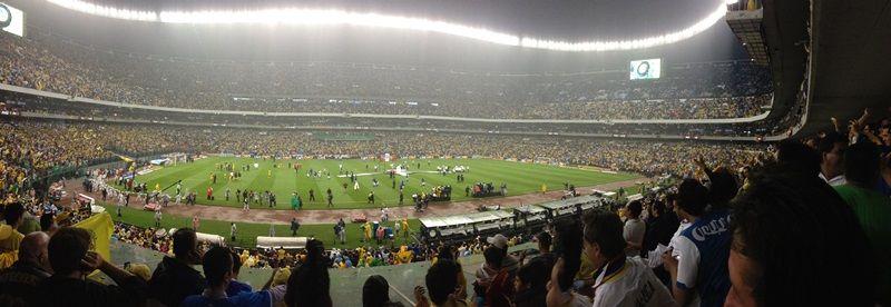 Final de Liguilla Mexicana, Estadio Azteca. México, D.F.