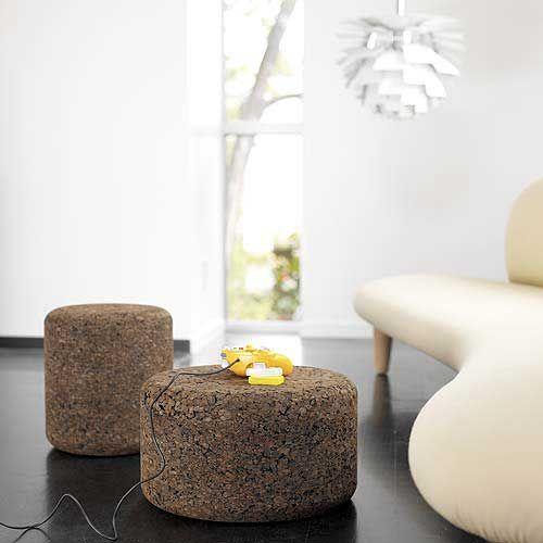 Solid Cork Tables By Jasper Morrison Com Imagens Materia Prima
