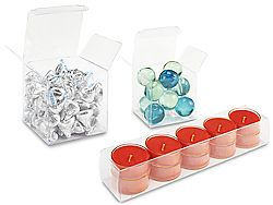 Clear Boxes - Clear Vinyl boxes - ULINE - 2x2x2 to 12x12x12, $89 ...
