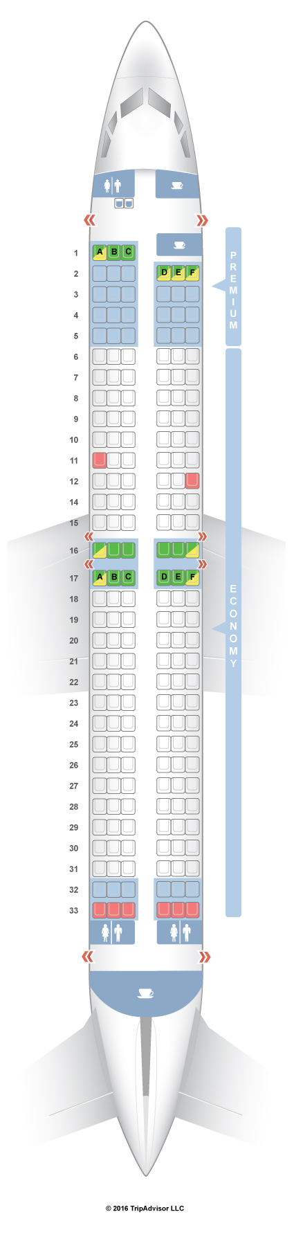 Seatguru Seat Map Ryanair Boeing 737 800 738 Seatguru Spirit Airlines Airbus