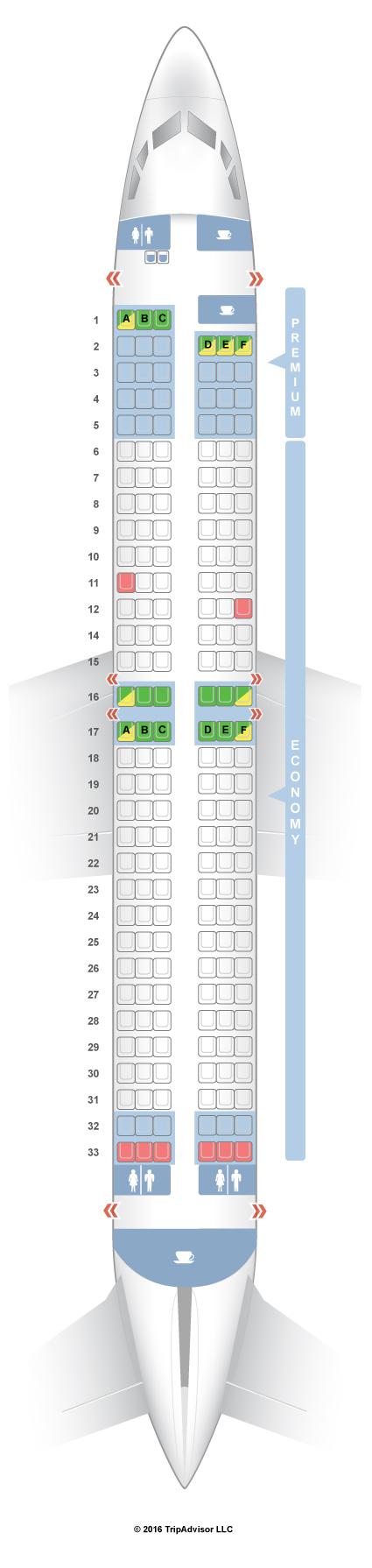 Seatguru Seat Map Ryanair Boeing 737 800 738 Trip In 2019