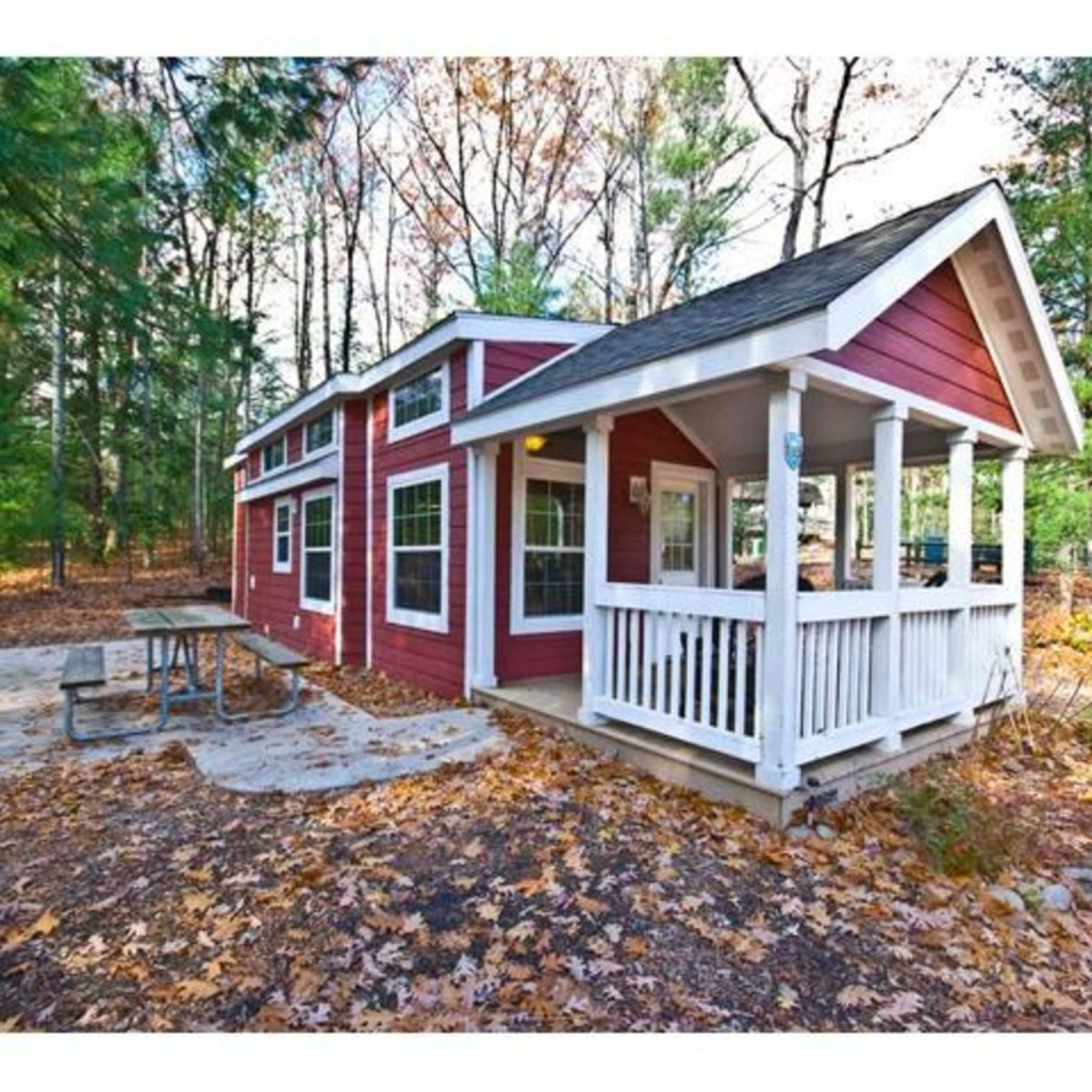 Luxury park model tiny house for sale in traverse city