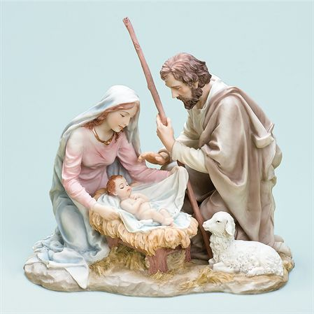 Holy Family Figurine by Roman