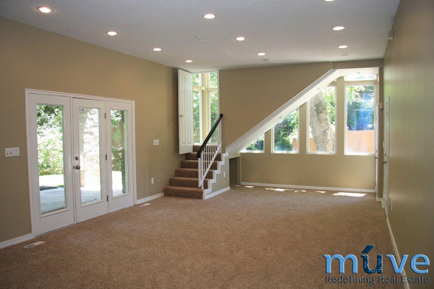 Lighting Basement Washroom Stairs: Basements, Modern
