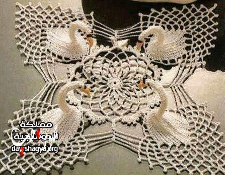اعمال يدوية بالصور مفارش كروشيه تركيه بالصور موديلات مفارش تركية للعرايس Modeles De Crochet Napperon Crochet Crochet