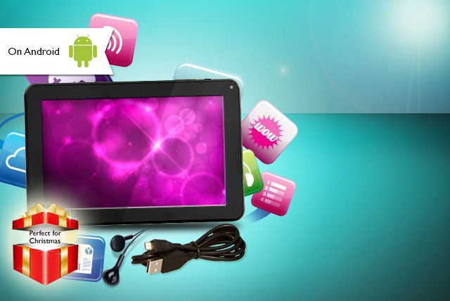 7-inch Android Tablet & Accessories