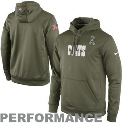 eac78e7e Nike Indianapolis Colts Salute to Service KO Pullover Performance ...
