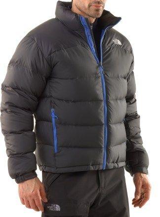 The North Face Men s Nuptse 2 Down Jacket in Asphalt Grey   Jake Blue for   109.83 2c8c62939