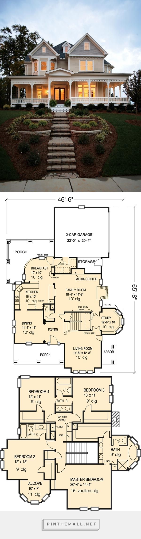 House Plan 95560 At FamilyHomePlans.com   Created Via Http://pinthemall.