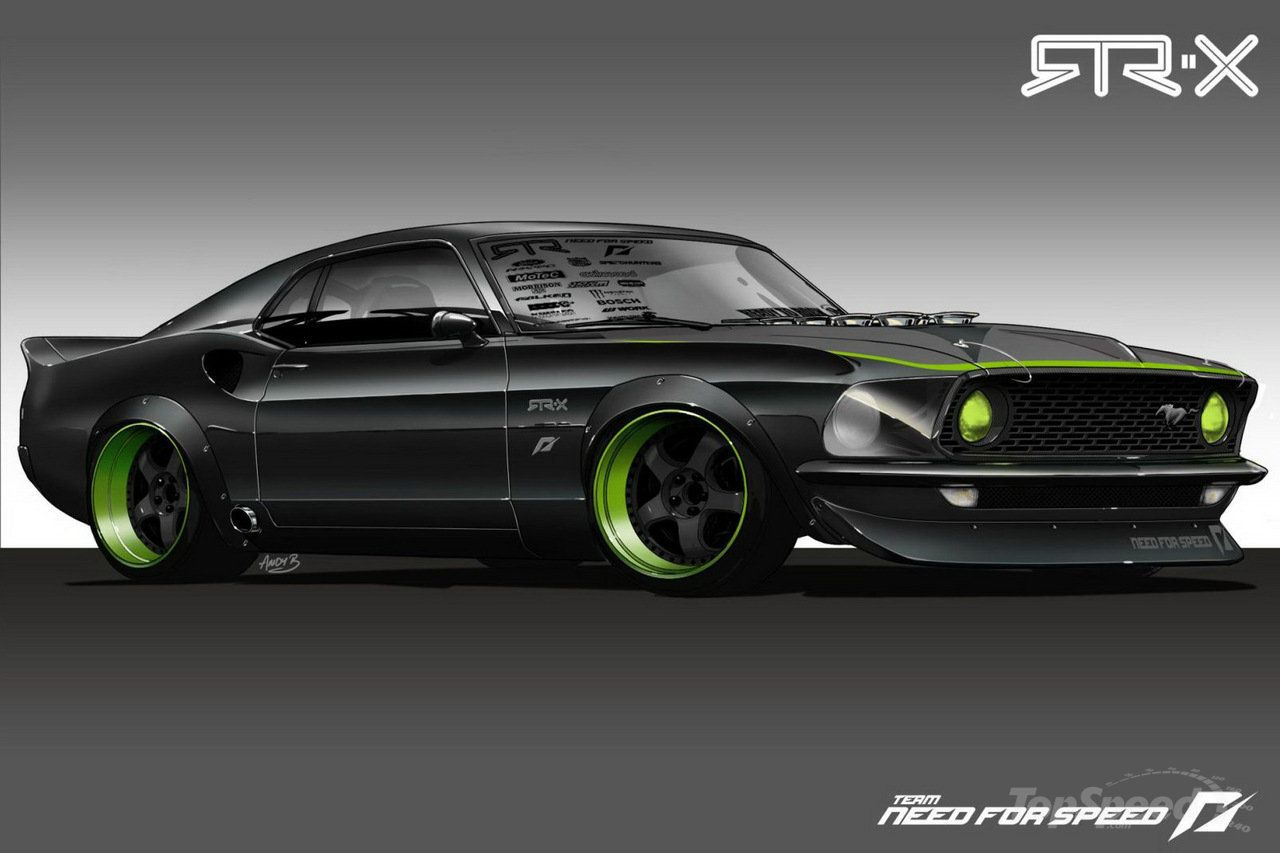 Beautiful Black Ford Mustang 1969 Rides Info Autos Modificados