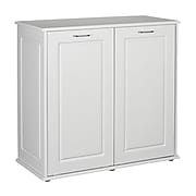 Household Essentials Laundry Sorter Cabinet With Front Tilt Doors 18405 1 In 2020 Laundry Cabinets Laundry Sorter Laundry Room Storage