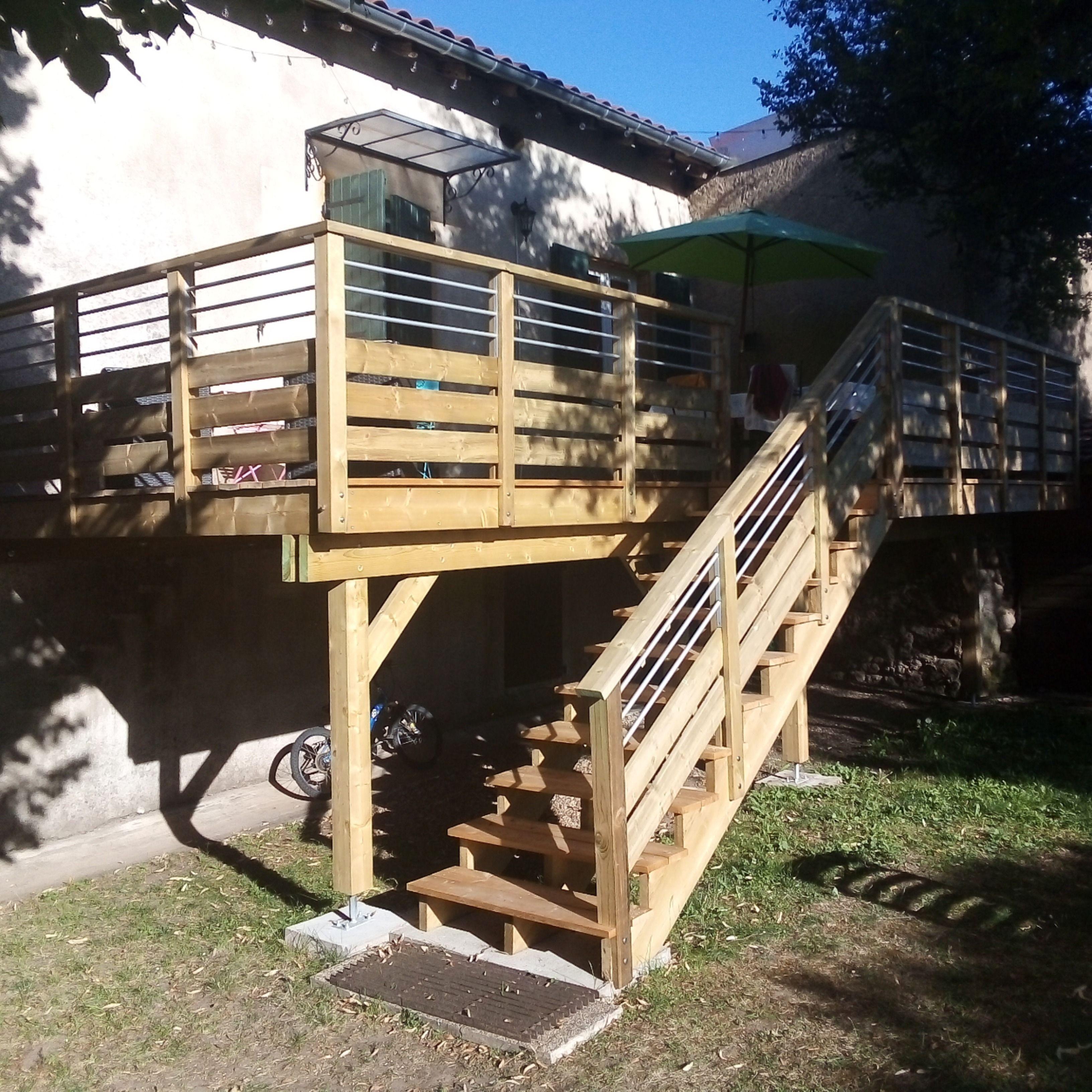 Escalier Bois En Kit En 2020 Escalier Bois Escalier Bois