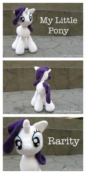 Awesome My Little Pony Free Crochet Patterns #crochetpony