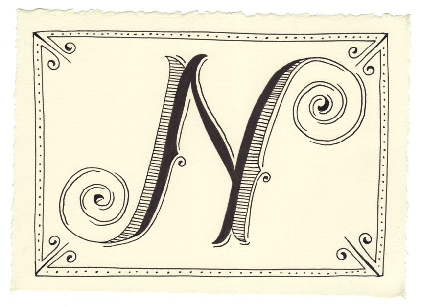 Handwritten letters, Day 40