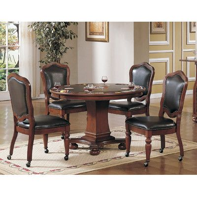 Sunset Trading 48 Quot Bellagio Poker Table Set Dining Room