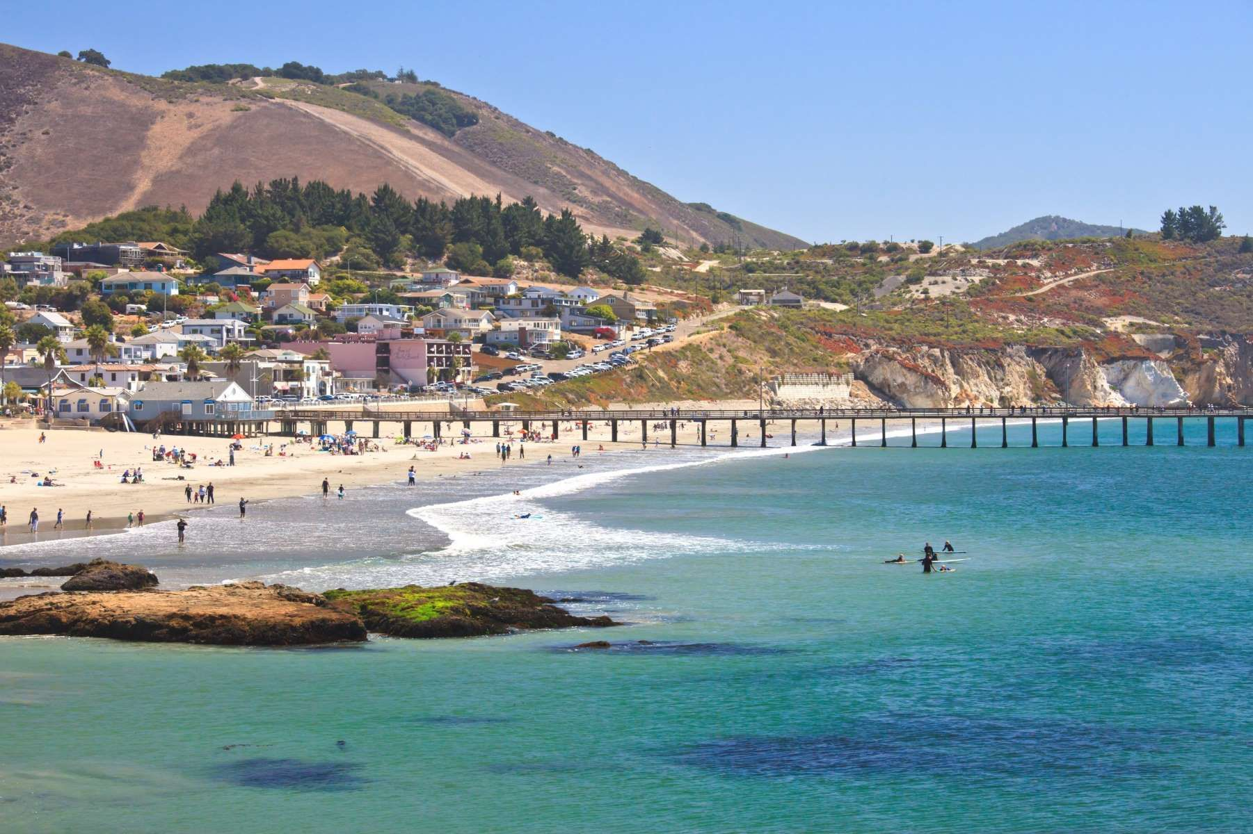Avila Beach California An Unincorporated Community In San Luis Obispo County About Two Hours North Of Los Angeles Provides Escape From