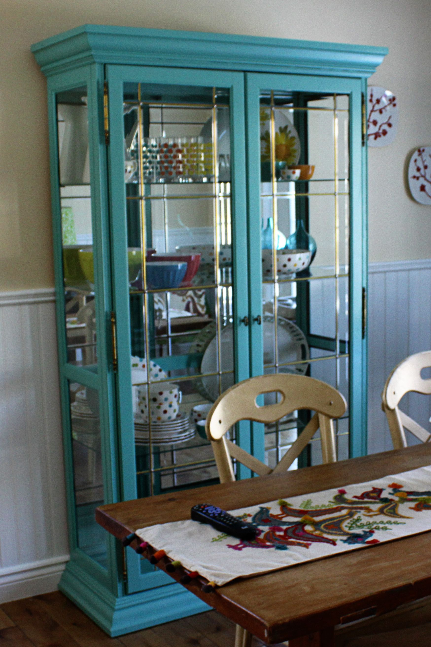 really want a china cabinet so I can get my grandma's china out of ...