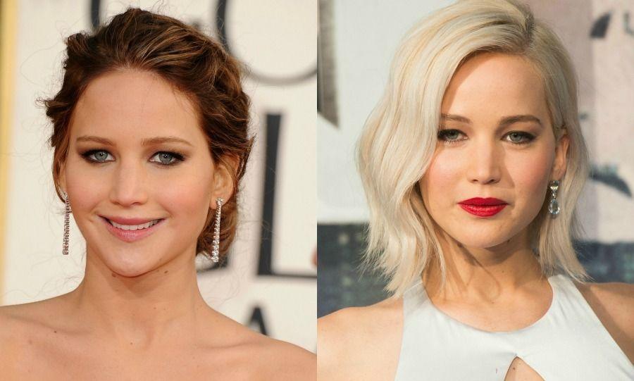 Blonde Vs Brunette Celebrity Hair Transformations Blonde Vs