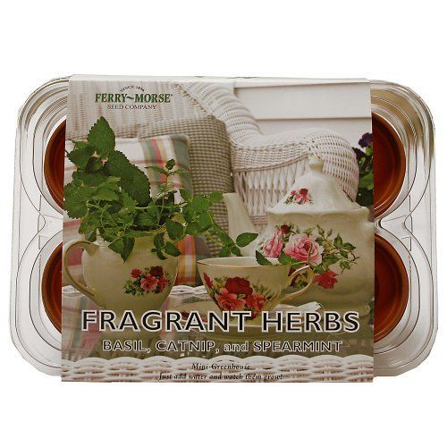 Ferry Morse 831 Fragrant Herb Mini Greenhouse U0026 Seed Kit By Ferry Morse.  $4.99.