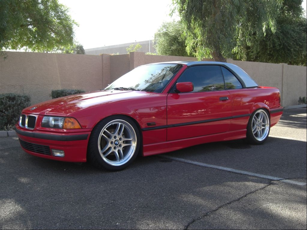 Red Convible Top Bmw 1996 3 Series 328i Convertible 2d Tempe Az Owned By