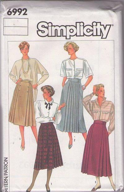 MOMSPatterns Vintage Sewing Patterns - Simplicity 6992 Vintage 80\'s ...