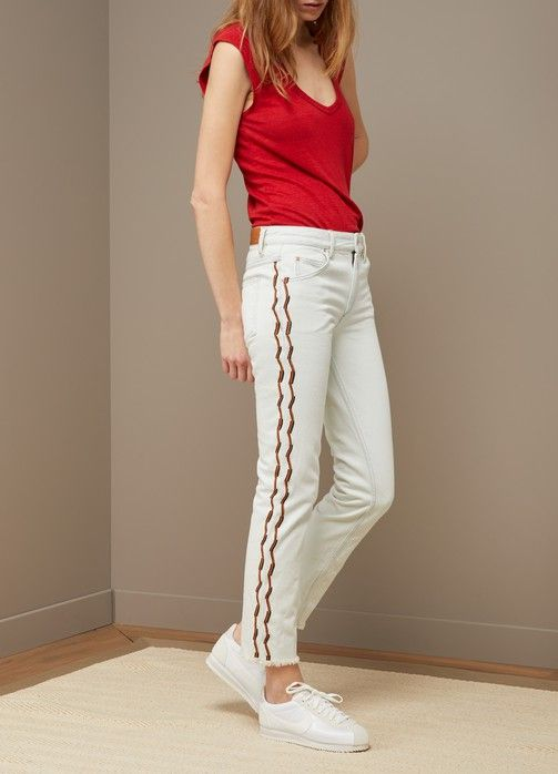 Cotton Colan jeans Isabel Marant pSwhE5f