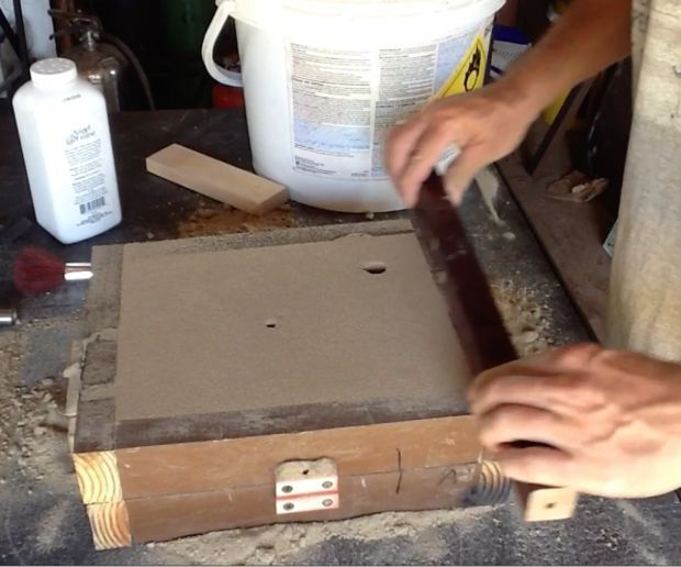 Learn to Do Aluminum Sand Casting | metal and wood | Metal