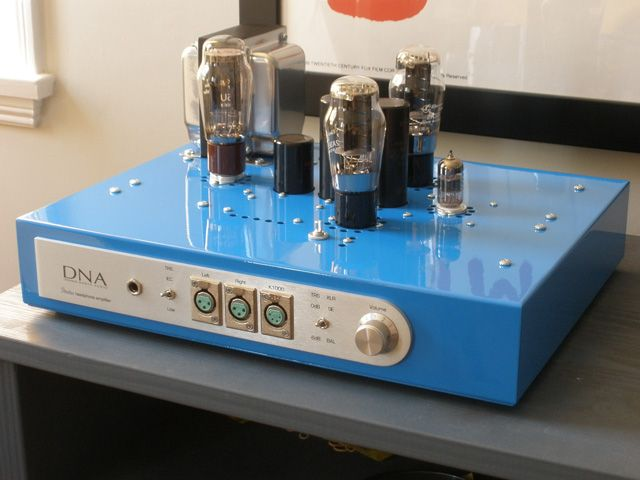 DNA Stratus 2A3 single ended triode SET vacuum tube headphone