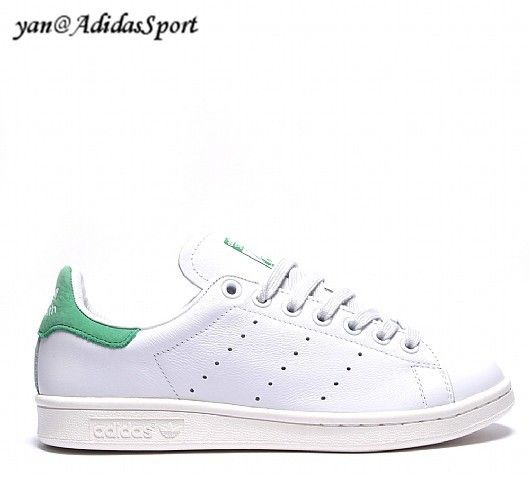 Adidas Originals Stan Smith women shoes leather in white and green Fairway  HOT SALE! HOT 27b073fde6b
