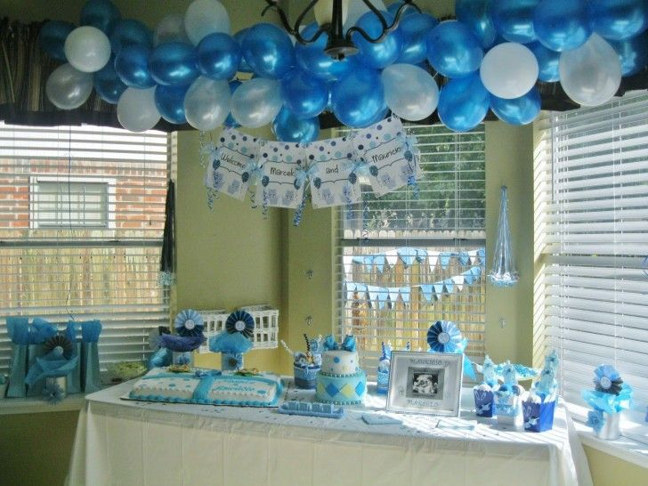 Cuties Baby Shower Decorations For Boy 20 Babyshower