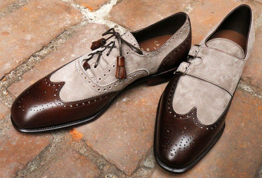 Wingtip Ghillie and Double Monk Spectators - Carmina