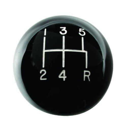 Rampage 46006 Billet Shift Knob with 5 SPD Shift Pattern