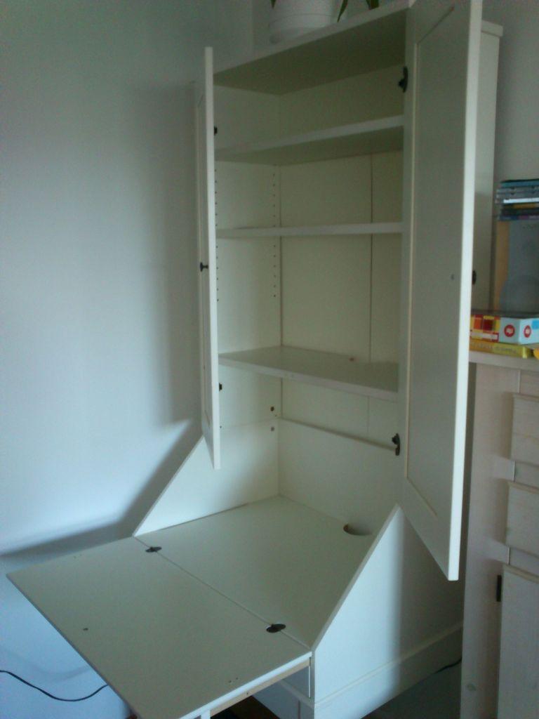 Schoolroom Ikea Hemnes Kirjoituslipasto Yläkaappi Home
