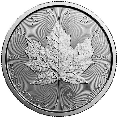 2016 1 Oz Canadian Platinum Maple Leaf Coin Bu Coins Bullion Coins Gold And Silver Coins