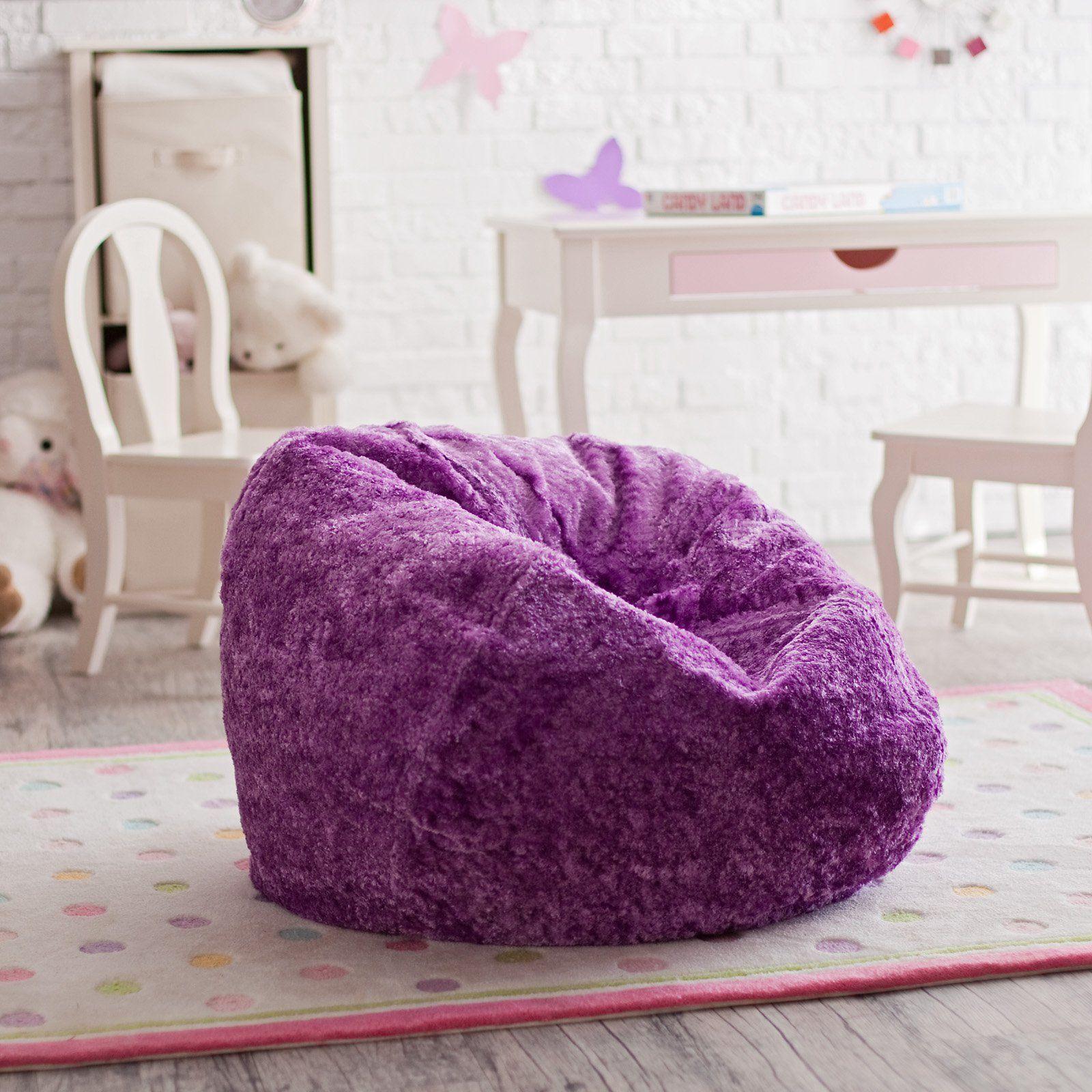 Astounding Ace Casual Furniture Small Chenille Lounger Bean Bag Chair Home Interior And Landscaping Mentranervesignezvosmurscom
