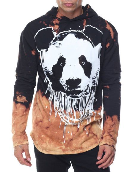 Find Panda Bleached Pullover Hoodie Men s Hoodies from Buyers Picks   more  at DrJays. on Drjays.com 3e5d801b7