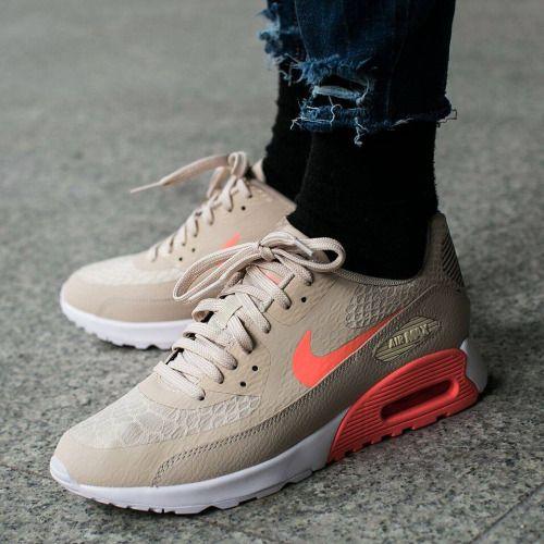 low priced 7cf98 99bce Nike Wmns Air Max 90 Ultra 2.0 Oatmeal Lava Glow  sneakers  sneakernews   StreetStyle  Kicks  adidas  nike  vans  newbalance  puma  ADIDAS  ASICS   CONVERSE ...