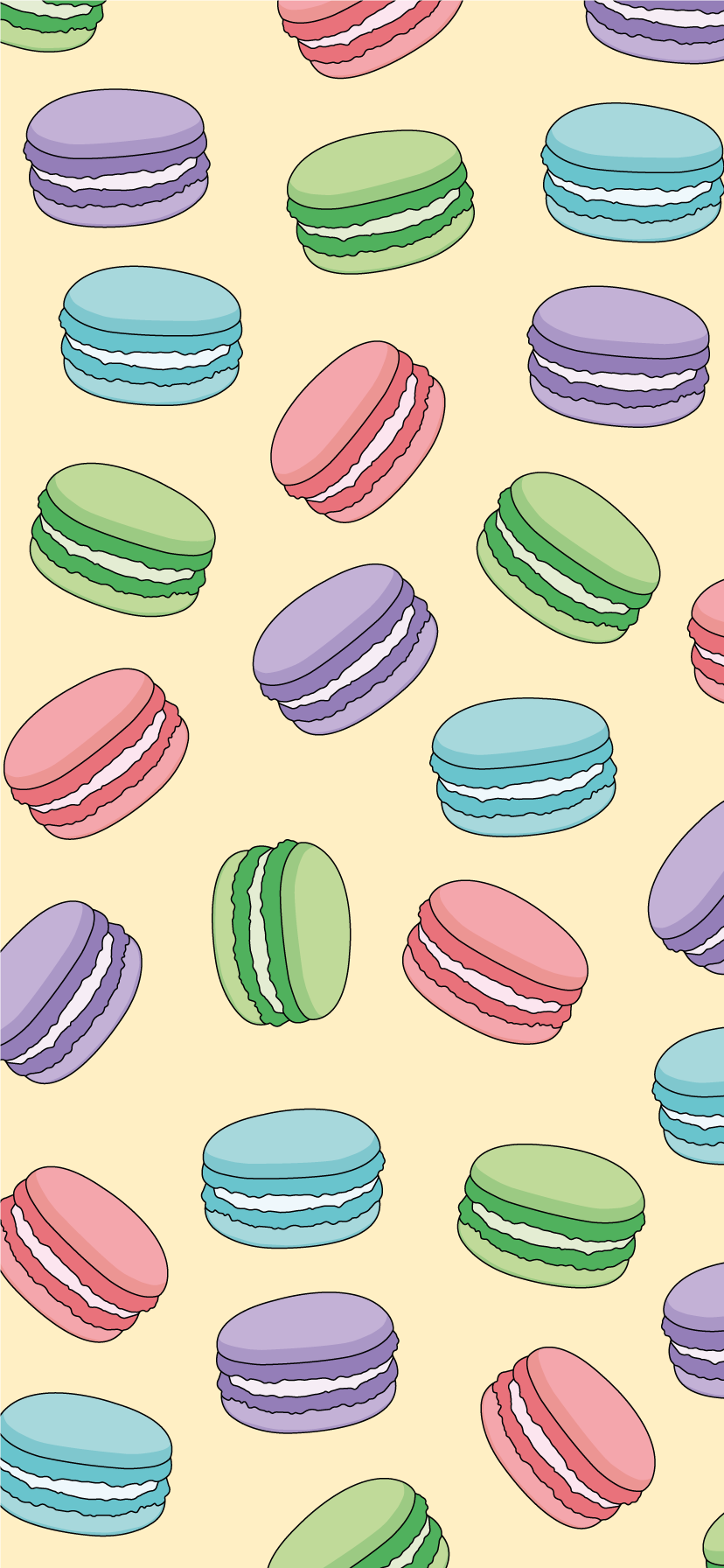 'Multiple Macarons' Sticker by IsabelleAnne Macaron