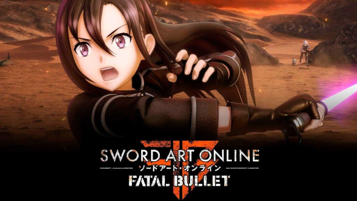 Sword Art Online Fatal Bullet Recibe La Version 1 7 0 Sword Art Online Sword Art Online Art