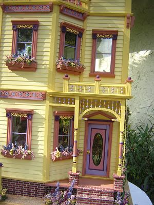 Dollhouses by Robin Carey