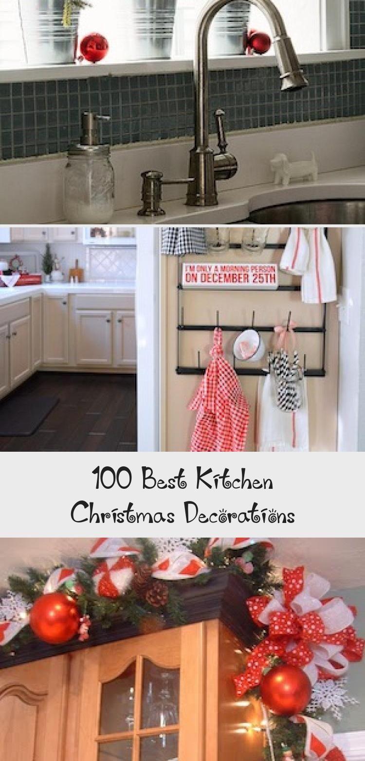 9 Best Kitchen Christmas Decorations   Decor Zone   Christmas ...
