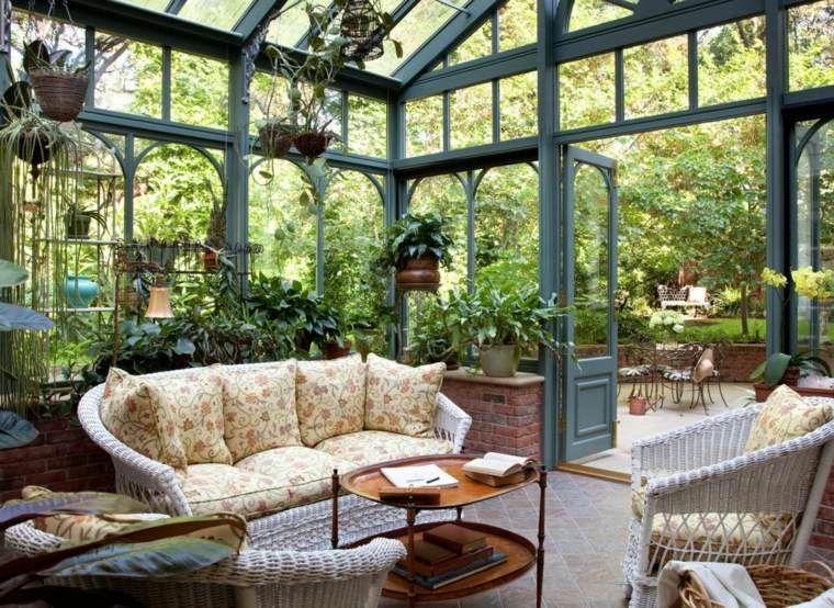 Conseils d\'aménagement de votre jardin d\'hiver | Deco romantique ...