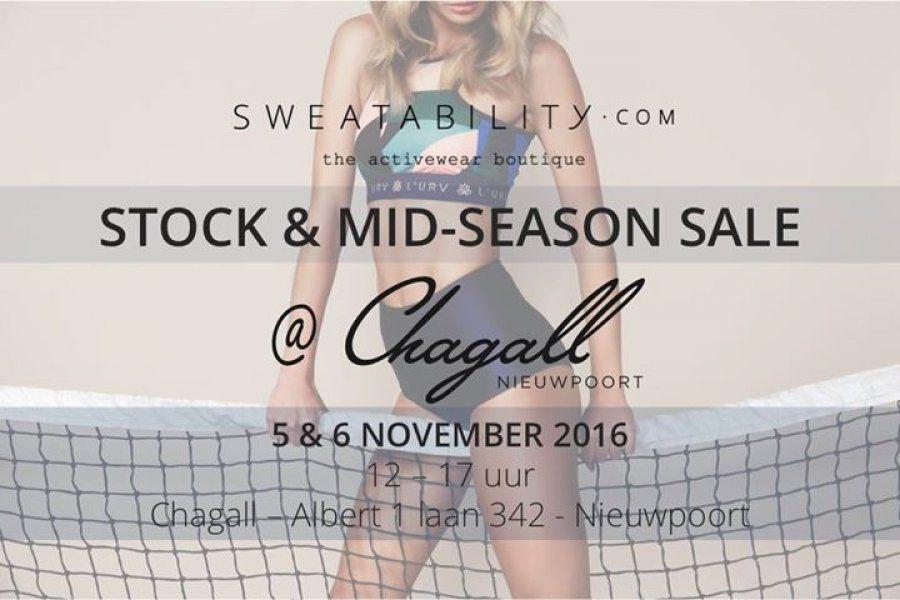 Sweatability Stock & Mid-Season Sale at Chagall -- Nieuwpoort -- 05/11-06/11