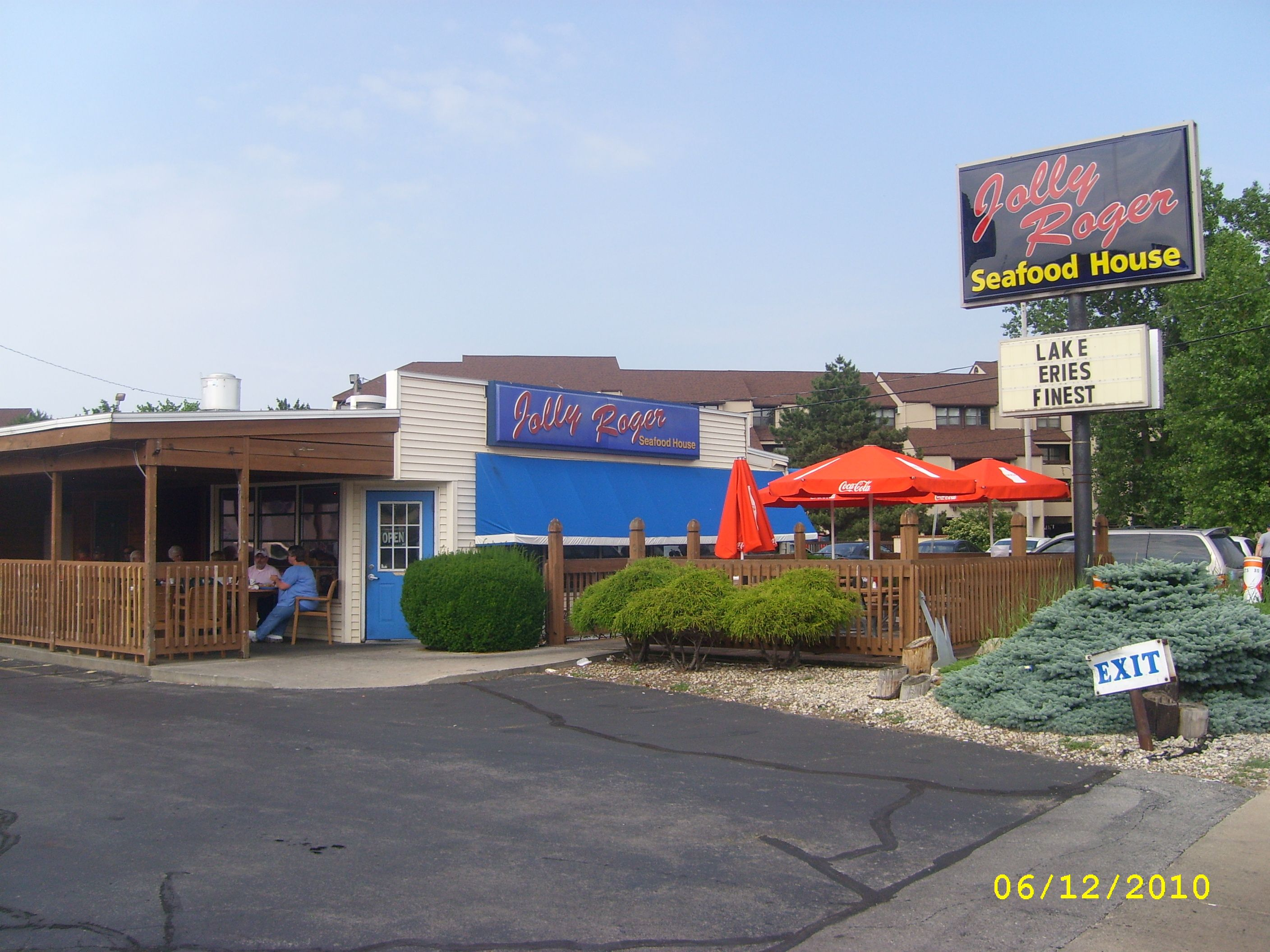 Jolly Roger Seafood House In Port Clinton, Ohio